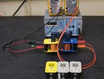 A step down transformer has 400 turns on the primary coil and 200 turns on the s